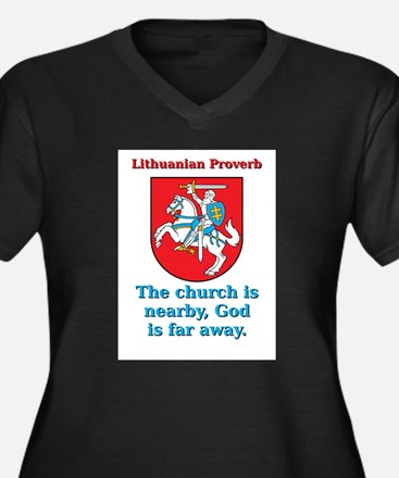 The Church Is Nearby - Lithuanian Proverb Women's