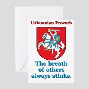 The Breath Of Others - Lithuanian Proverb Greeting