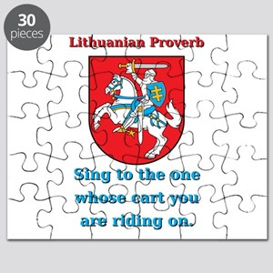 Sing To The One - Lithuanian Proverb Puzzle