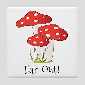 Far Out Tile Coaster