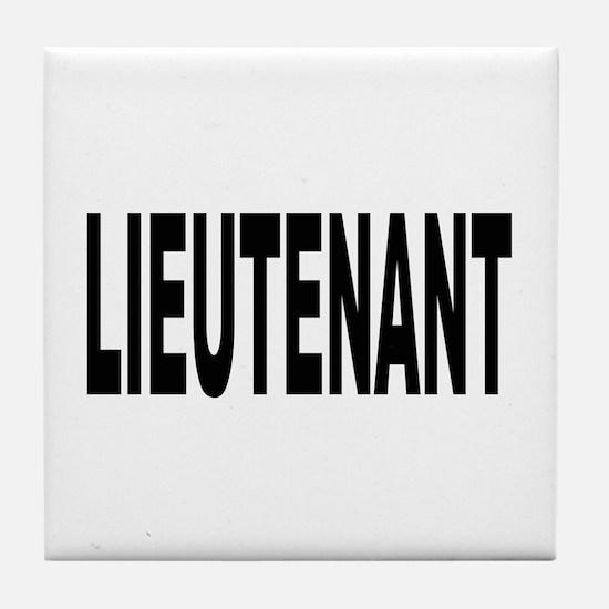Lieutenant Tile Coaster