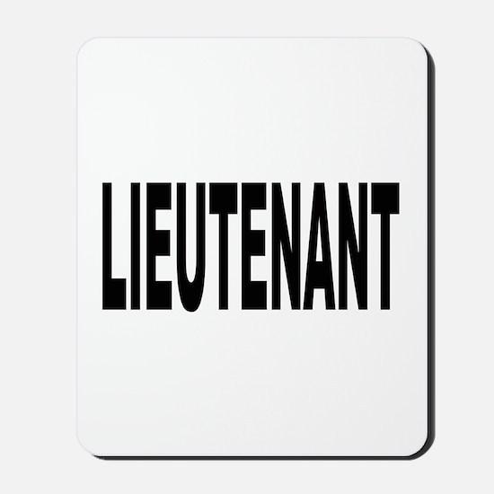 Lieutenant Mousepad