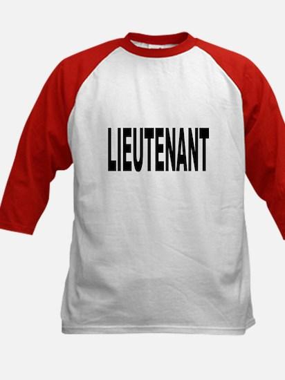 Lieutenant (Front) Kids Baseball Jersey