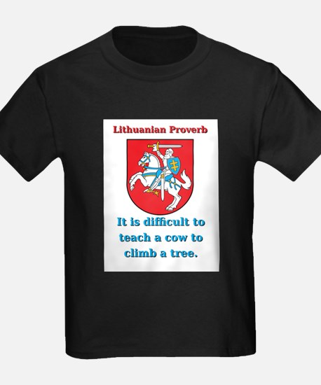 It Is Diffucult To Teach - Lithuanian Proverb T