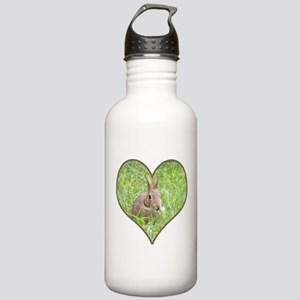 Rabbit Eating Stainless Water Bottle 1.0L
