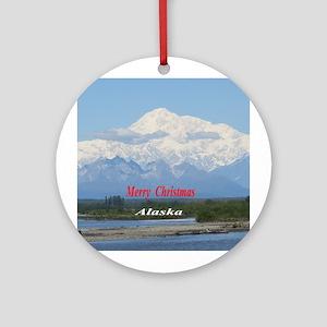 Mt. McKinley Alaska Ornament (Round)