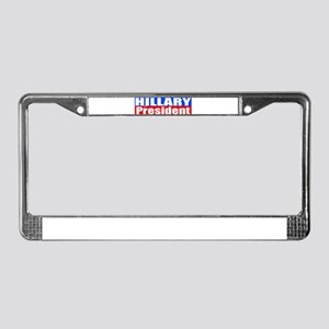 Hillary for President License Plate Frame