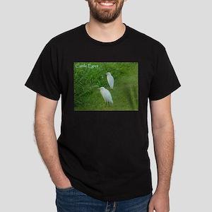 Cattle Egret Dark T-Shirt