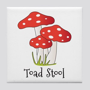 Toad Stool Tile Coaster