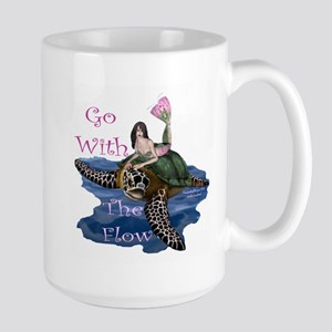 Go With the Flow Large Mug