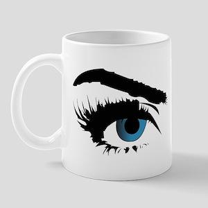 blue eye stare Mug