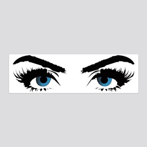 blue eye stare 20x6 Wall Decal