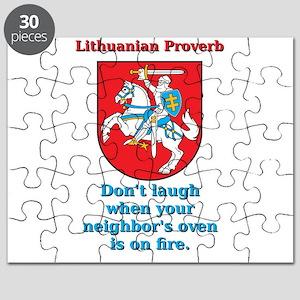 Don't Laugh - Lithuanian Proverb Puzzle