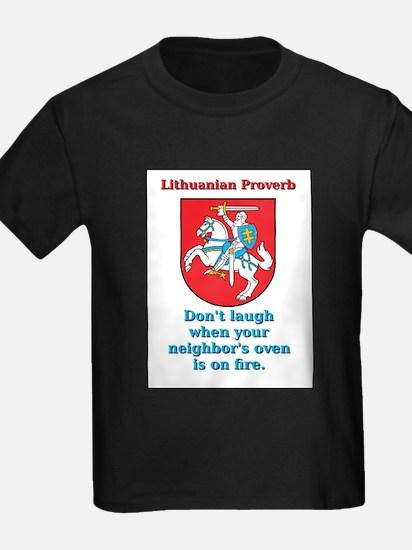 Don't Laugh - Lithuanian Proverb T