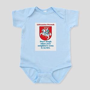 Don't Laugh - Lithuanian Proverb Infant Bodysu