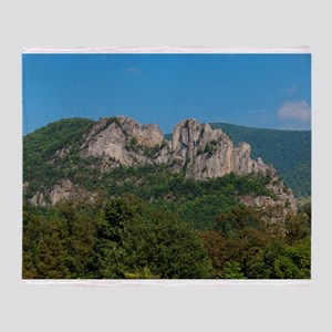 SENECA ROCKS Throw Blanket