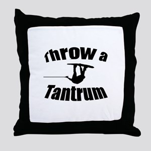 Throw a Tantrum Throw Pillow
