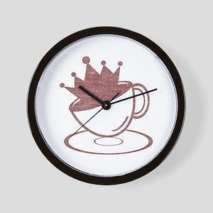 Royal Coffee Wall Clock