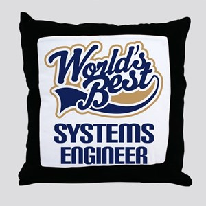 Systems Engineer (Worlds Best) Throw Pillow