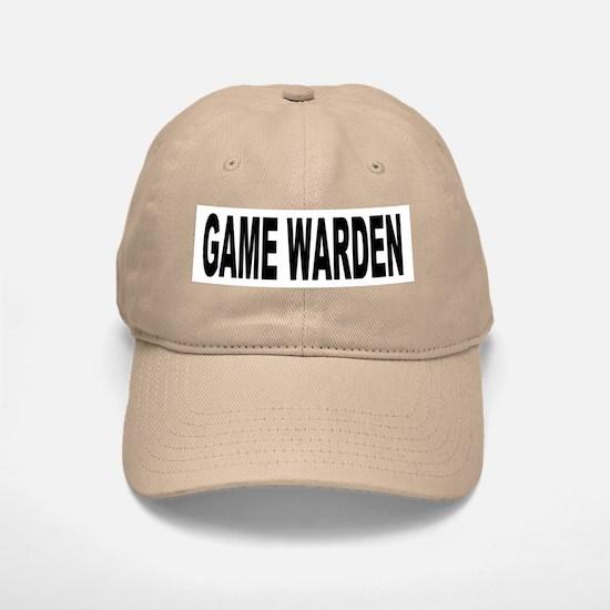 Game Warden Baseball Baseball Cap