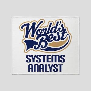 Systems Analyst (Worlds Best) Throw Blanket