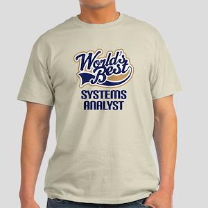 Systems Analyst (Worlds Best) Light T-Shirt