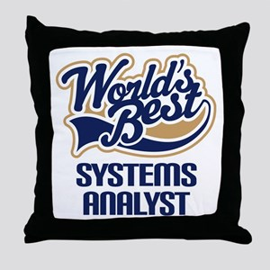 Systems Analyst (Worlds Best) Throw Pillow