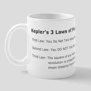 Keplers Fight Club Laws Mug