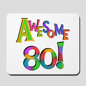 Awesome 80 Mousepad