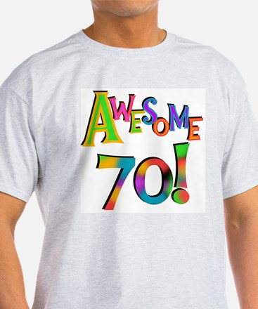 Awesome 70 Birthday T-Shirt