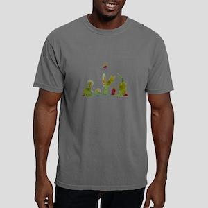 Cacti, ferret, hummingbi Mens Comfort Colors Shirt
