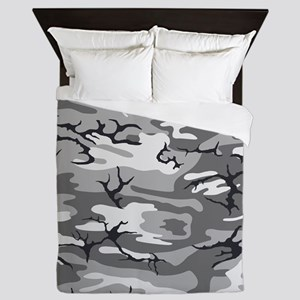Urban Camo Queen Duvet
