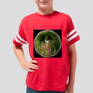 Mantis bl tile Youth Football Shirt