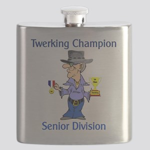 Old Fart Twerker Flask
