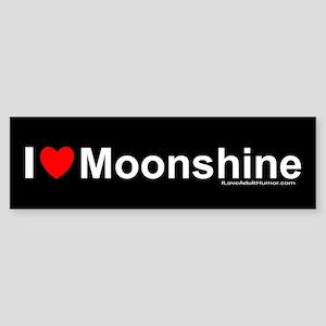 Moonshine Sticker (Bumper)