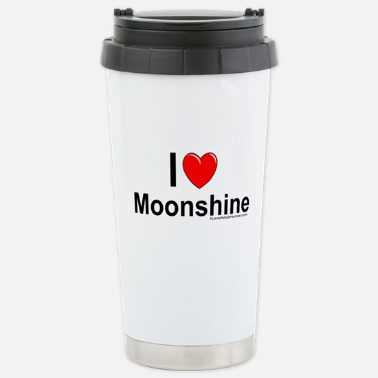 Moonshine Stainless Steel Travel Mug