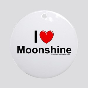 Moonshine Ornament (Round)