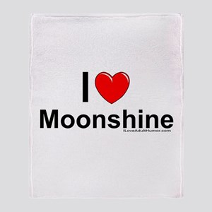 Moonshine Throw Blanket