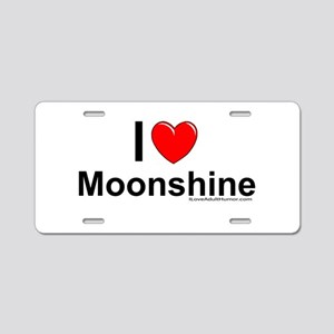 Moonshine Aluminum License Plate