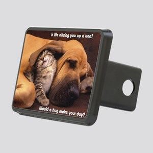 Would a Hug Make Your Day Rectangular Hitch Cover