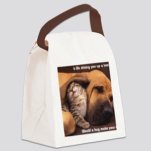 Would a Hug Make Your Day Canvas Lunch Bag