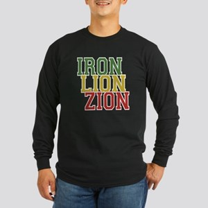 Iron Lion Zion Long Sleeve Dark T-Shirt