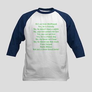 Questions Answered (he) - Kids Baseball Jersey