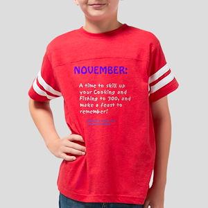 NovemberHB Youth Football Shirt