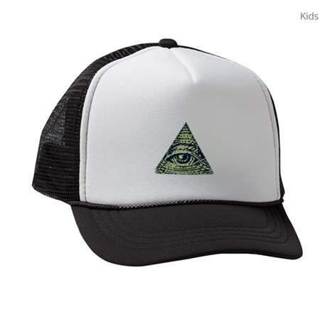 Illuminati confirmed! Kids Trucker hat
