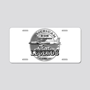 B-52 Stratofortress Bomber Aluminum License Plate