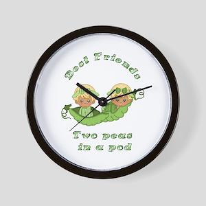 Best Friend-Blonde Wall Clock