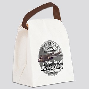 C-119 Flying Boxcar Canvas Lunch Bag