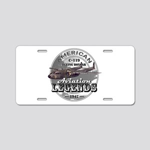 C-119 Flying Boxcar Aluminum License Plate