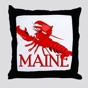 Maine Lobster Throw Pillow